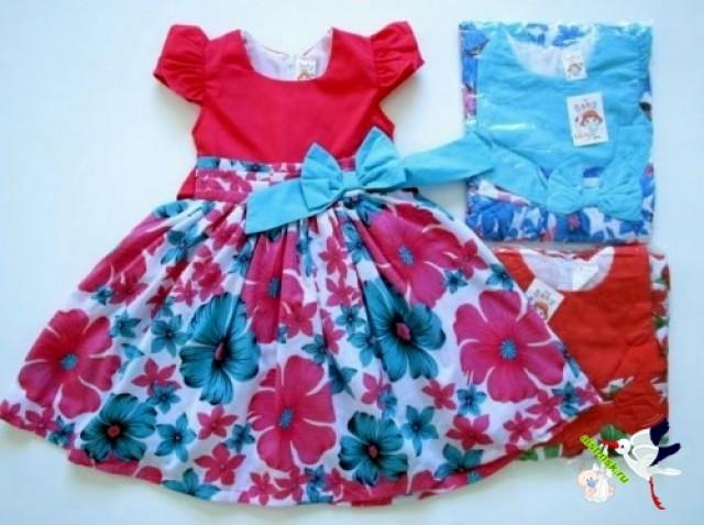 Из своего платья сшить платье маленькой девочке 548