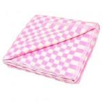 Байковое одеяло сирень
